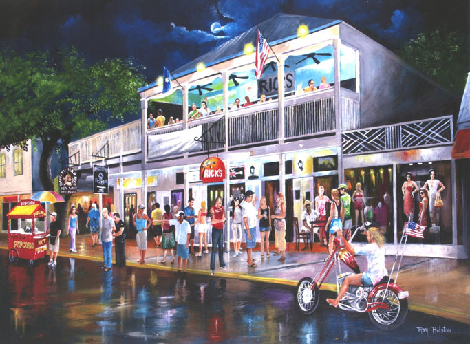 Artist Ray Rolston Landmarks Of Key West