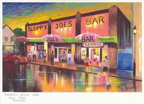 Key West Landmark Art Prints