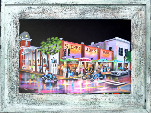 Artist Ray Rolston Landmarks Of Key West