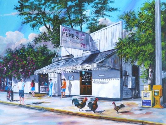 Artist Ray Rolston- Landmarks of Key West