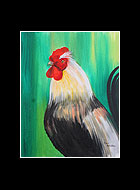Henry Rooster Print