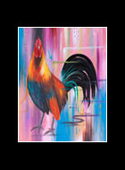Jefferson Rooster Print