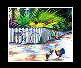 Key West Cruisers Print