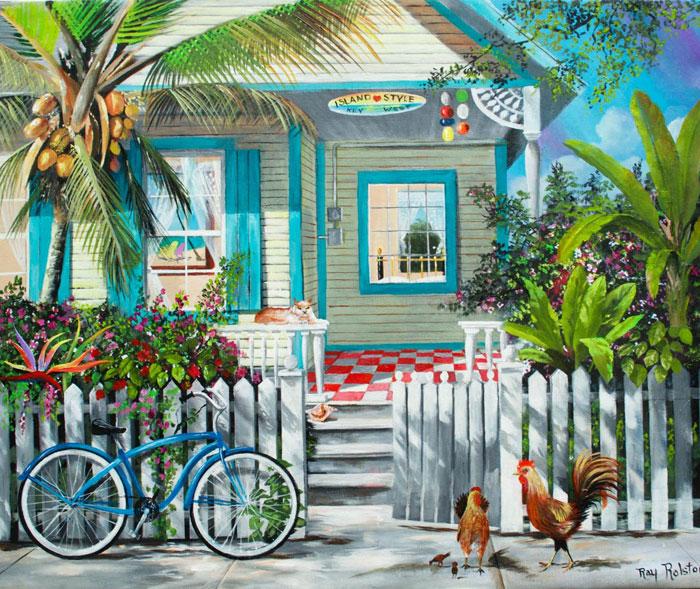 Key West Exterior Paint Colors